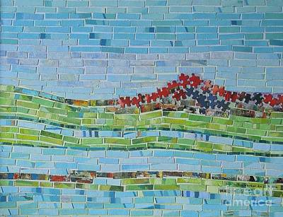 Mixed Media - Mole Hill Reborn by Judith Espinoza