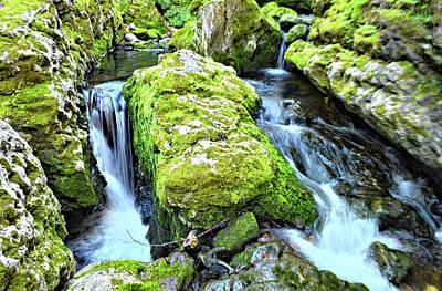 Photograph - Moine Creek Cascade 2 by Bonfire Photography