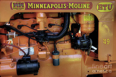 Moline Engine Art Print