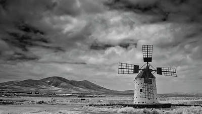 Wind Photograph - Molino De Cotillo by Martin Zalba is a photographer looking for a personal look,