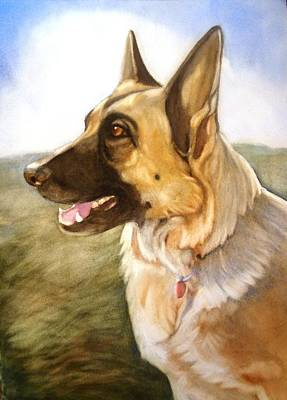 Painting - Mollie by Marilyn Jacobson