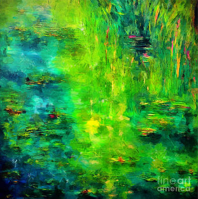 City Lights - Mollies Magic Pond by Claire Bull