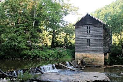 Mollohan Mill 2 Art Print by Carolyn Postelwait