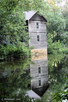 Mollohan Mill 3 Print by Carolyn Postelwait