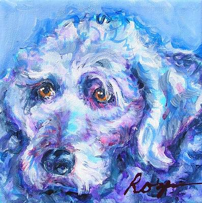 Molly Blue Art Print