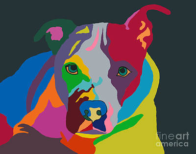 Molly Psychedelic Art Print