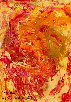 Painting - Molten by Cruz Selene Ambrosio