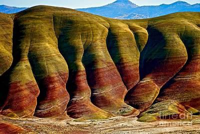 Photograph - Molten Hills by Michael Cinnamond