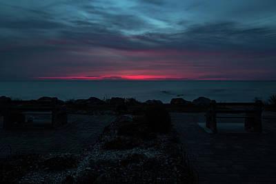 Photograph - Molten Sky by CJ Schmit