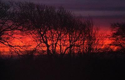 Photograph - Molten Sky by Richard Brookes
