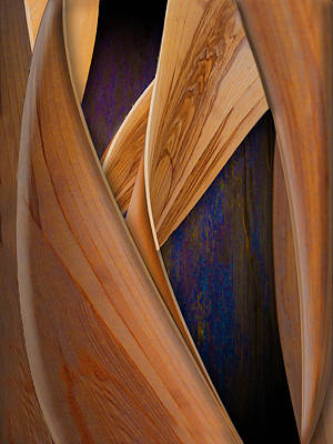 Photograph - Molten Wood by Paul Wear