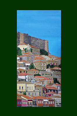 Mixed Media - Molyvos Three Of Three by Eric Kempson