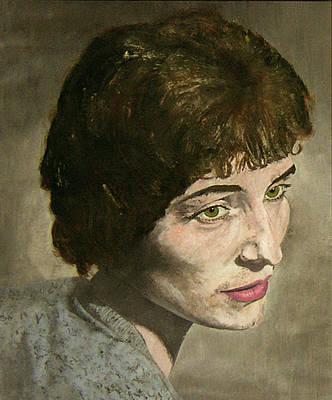 Painting - Mom      Never Forgotten by Elisabeth Dubois