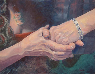 Painting - Mom And Me by Sheri Hoeger