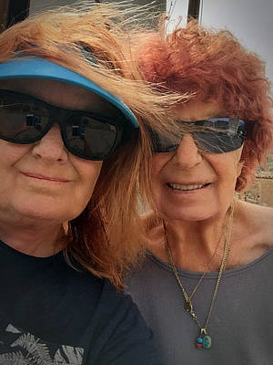 Photograph - Mom Chris And Daughter Colette May 2017 by Colette V Hera Guggenheim