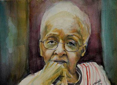 Painting - Mom by Gary Williams