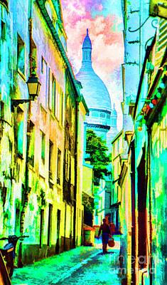 Photograph - Momarte Alley by Rick Bragan