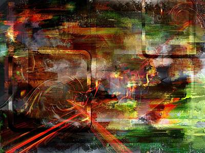 Mixed Media - Moment.. by Art Di
