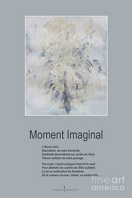 Spririt Mixed Media - Moment Imaginal by Nicole Lemelin