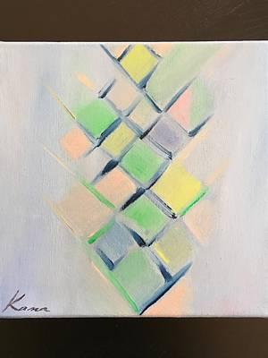 Fineart Painting - Moment  by Kanako Kumamaru