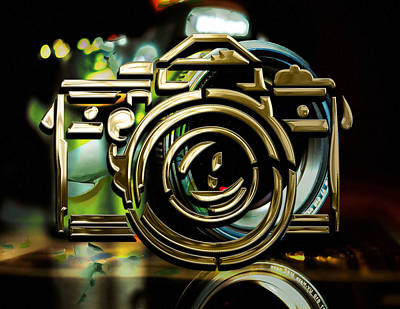 Mixed Media - Moment Maker Camera Collection by Marvin Blaine