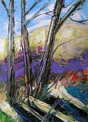 Moment Of Brightening Art Print by John Williams