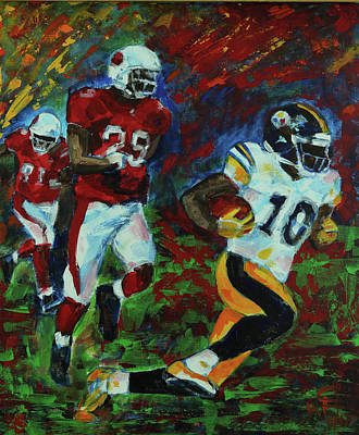 Painting - Moments Before The Td by Walter Fahmy