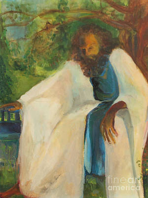 Painting - Moments In Gethsemane by Daun Soden-Greene