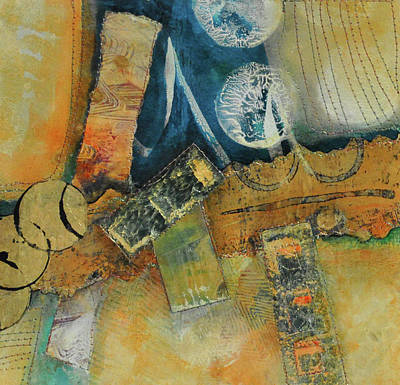 Mixed Media - Moments In The Middle 1 by Kate Word