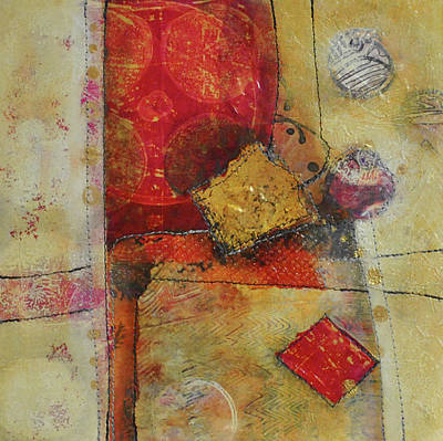 Mixed Media - Moments In The Middle 2 by Kate Word
