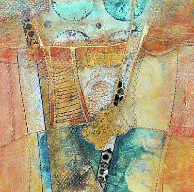 Mixed Media - Moments In The Middle 3 by Kate Word