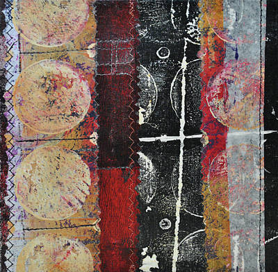 Mixed Media - Moments In The Middle 4 by Kate Word