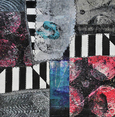 Mixed Media - Moments In The Middle 5 by Kate Word