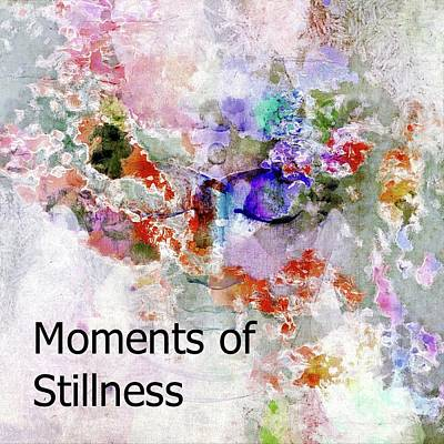 Digital Art - Moments Of Stillness by Dorothy Berry-Lound