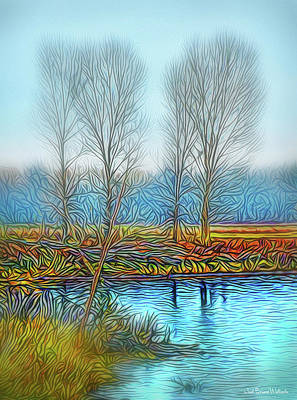 Digital Art - Moments Of Stillness by Joel Bruce Wallach