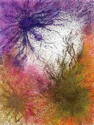 Moments Of The Divine Enlightenment #688 Original by Rainbow Artist Orlando L aka Kevin Orlando Lau