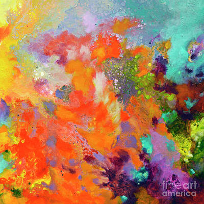 Painting - Momentum, Canvas Two by Sally Trace