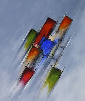 Painting - Momentum by Jo Appleby