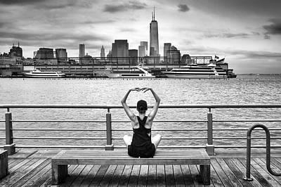 Newyork Photograph - Momentum by Michel Guyot