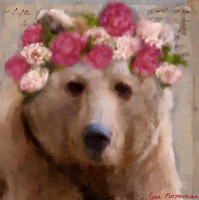 Digital Art - Momma Bear by Lisa Noneman