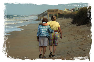Dot And Daughter Art Print by Laura Ragland