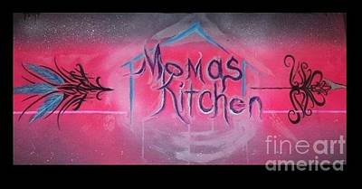 Painting - Momma's Kitchen  by Talisa Hartley