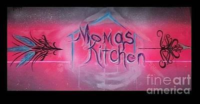 Momma's Kitchen  Art Print