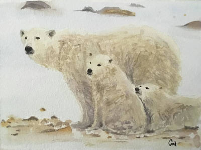 Painting - Mommy Bear by Annie Poitras