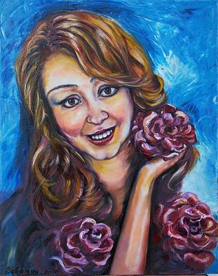 Painting - Mommy Rosa by Yelena Rubin