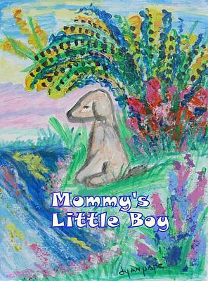 Painting - Mommy's Little Boy by Diane Pape
