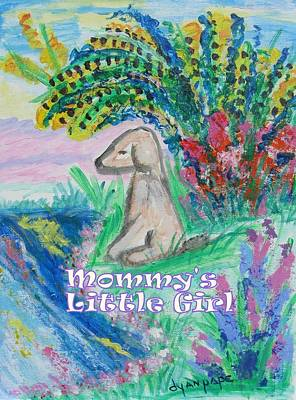Painting - Mommy's Little Girl by Diane Pape