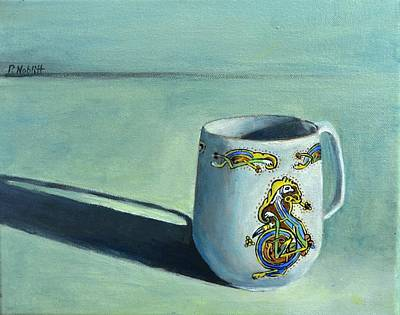 Wall Art - Painting - Mom's Cup by Paula Noblitt