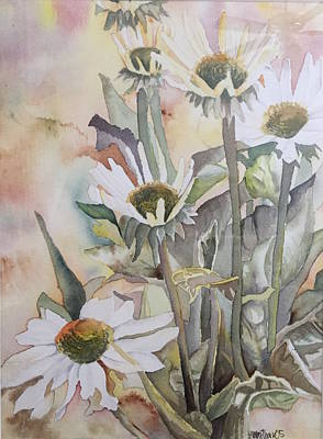 Caravaggio - Moms flowers by Amber Thackeray