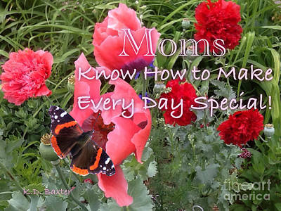 Painting - Moms Know How To Make Every Day Special by Kimberlee Baxter